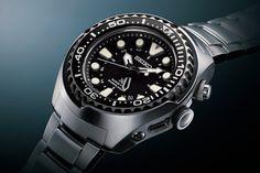 Seiko Prospex Kinetic GMT Diver #watch #seiko