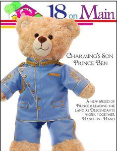 Bear E. Charming Prince for Build-A-Bear Dolls