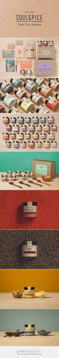 Soul Spice Brand Spice Branding and Packaging by Studio Grau