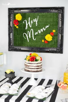 Mamas & Mocktails Baby Shower by PartiesforPennies.com - super-chic!