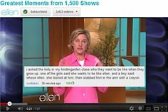 Little Ellen fans…