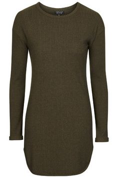 Ribbed Tunic - green (size 6 or if not a size 8)