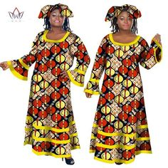 African Long Maxi Dashiki Dress for Women