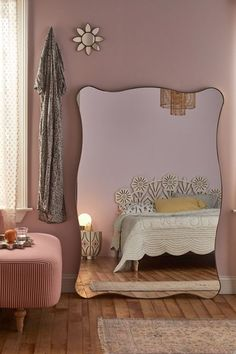 Room Ideas Bedroom, Bedroom Decor, Mirror Bedroom, Indie Room, Aesthetic Room Decor, Dream Rooms, My New Room, House Rooms, House Design