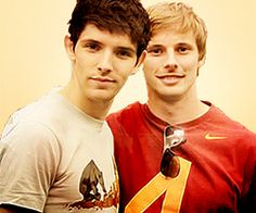 Bradley and Colin, there is so much attractive in just one picture