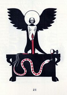"""iopanosiris: """" …by Daniel A. Schulke, from The Psalter of Cain, Xoanon """" Snake Goddess, Traditional Witchcraft, Drawing Sketches, Drawings, Arte Obscura, Aesthetic Art, Sculptures, Horror, Creatures"""