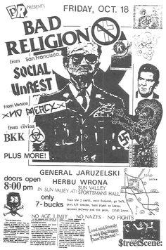 bad religion Sun Valley CA