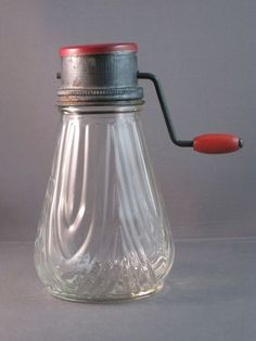 "Vintage Glass & Metal Nut Grinder... it worked so much better than the ""new and improved"" grinders."