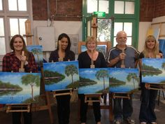 Another great group of new students.  Learn to paint http://www.FreePaintingVideos.com