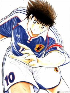 the old anime from Captain Tsubasa Ozora Captain Tsubasa, Old Anime, Anime Guys, Manga Anime, Oliver Atom, Cartoon Live, Video Game Anime, Marvel, Anime Shows
