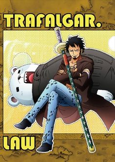 One Piece (Trafalgar Law, Bepo) One Piece Fanart, One Piece Manga, Itachi, Jean Bart, Pirate Pictures, Best Animes Ever, Trafalgar Law, Tv Ads, First Love