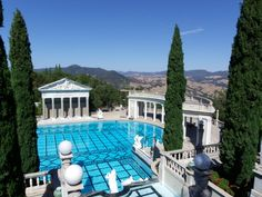 hearst castle...everyone should make this trip.  San Simeon, CA - awesome