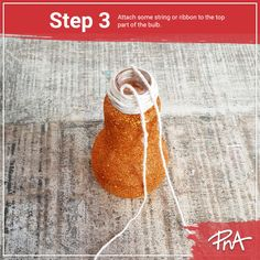 💡 Have some spare bulb globes laying around? Put them to creative use with these easy steps to creating hanging décor for a gracefully changed touch.🥰 Art And Craft Materials, Stationery Shop, Globes, Straw Bag, Arts And Crafts, Bulb, Touch, Creative, Easy