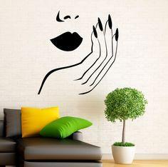 Diseño de manicura pared calcomanía vinilo por BestDecalsUSA Más