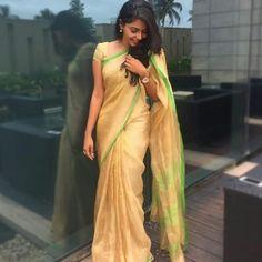 Image may contain: 1 person, standing Beautiful Girl Indian, Beautiful Saree, Lakshmi Sarees, Prabhas And Anushka, Elegant Saree, Petite Fashion, Women's Fashion, Petite Women, Girl Photography