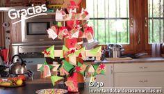 Cómo hacer un calendario de Adviento en forma de árbol de Navidad