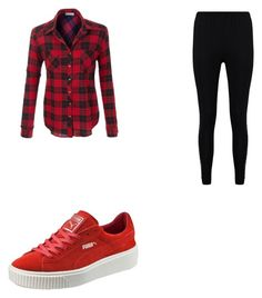 """""""Sans titre #79"""" by anissakhl on Polyvore featuring mode, Boohoo et Puma"""