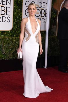 Kate Hudson in Versace at the Golden Globes 2015 -- obsessed with this dress
