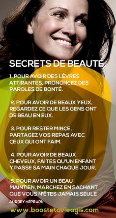 secrets pour être une belle personne