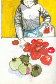 O Inverno é o tempo já velho de Maria Isabel César Anjo, ilustrado por Maria Keil.