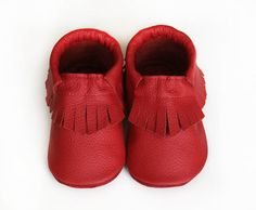 Buy Now Leather baby moccasin toddler moccs soft-soled shoe...