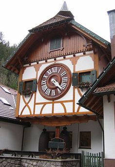 Giant Cuckoo clock in Triberg (Black Forest) Germany