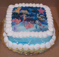 Finding Nemo Cake By Carries Cakery