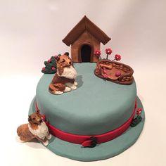 #temakake #modelering #norge#handcrafted #modeling #sheltie#caketopper #søtesaker #gmnwenche #eltekroken #allers #ukebladethjemmet#cakeart#cakeartist ##sheltielovers #bakemag#sheltieowners#shetlandsheepdog Dec 8, Shetland Sheepdog, Sheltie, Collie, Animal Pictures, Cake Toppers, Deserts, Birthday Cake, Sweets