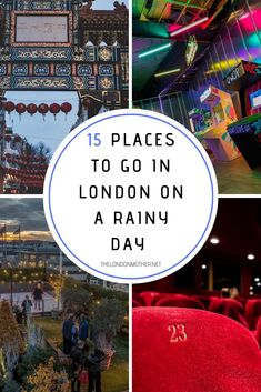 It's cold and/or wet in London more often than it's not so here are 15 places to go on a rainy day in London that aren't weather dependent. Days Out With Kids, Family Days Out, Travel With Kids, Family Travel, London With Kids, Free Museums, London Theatre, London Museums, Things To Do In London