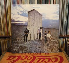 "The WHO on Vinyl - ""Who's Next"" Absolute Classic - Polydor reissue - 0042281365119 - Won't Get Fooled Again by AtomicFrostedBombs on Etsy"
