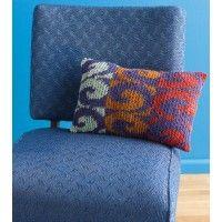 Swirls Pillow Pattern | InterweaveStore.com