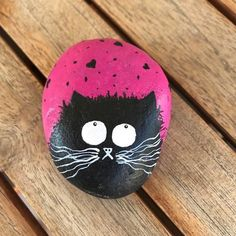 #cat #stone #pebble #rock #stone painting #stonepaint #acrylics #art #tasboyama #taş #taşboyama #dekor #dekoratif #dekorasyon #kedi #elyapımı #handmade #elemeği #globalrockpainters #N4Joy