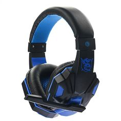 Casque Audio Deep Bass Gaming Headphone Earphone Gamer Headset With Mic For PC Computer player Skype phone chat #Affiliate