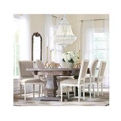 Home Decorators Collection Aldridge Extendable 9 ft. Antique Grey Dining Table-1673000270 - The Home Depot