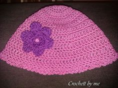 cap with flower