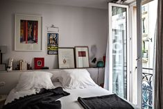 """Le Pigalle Paris - new hotel opened in July 2015 in the """"New Athens"""" area Pigalle Paris, Half Painted Walls, Home Interior, Interior Design, Dyi, Yellow Tile, Great Hotel, Paris Hotels, Houses"""