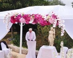 Bandeau de l'arche orchidées