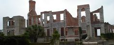 """It's just as well, because you'll be enjoying the coast. Forbes recently named Cumberland Island one of """"America's Island Paradises,"""" and with good reason. On Cumberland you can fish, bike, kayak, hike Cumberland's wilderness, and catch a glimpse of the wild hogs or horses that roam freely there. Plum Orchard and the ruins of Dungeness mansion are vestiges left from the island's era as a playground of the wealthy Carnegie family. Find these historic homes (as well as the tiny First African Bapti"""