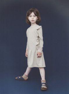 Christina Rohde(クリスティーナ・ローデ)Dress Ruffle長袖ラッフルワンピース-JiJi-