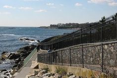 Three and a half miles of cliffs, rocky beaches, Gilded Age mansions and 40 Steps to nowhere in particular