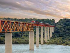 """El Chepe"" train, Chihuahua, #Mexico."