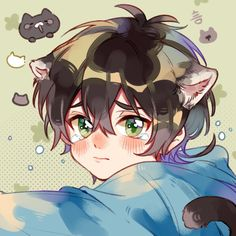 Anime Chibi, Kawaii Anime, Anime Cat, Fanarts Anime, Kawaii Art, Otaku Anime, Cartoon Kunst, Anime Kunst, Cartoon Art