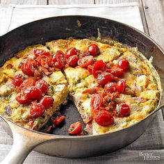 Use your skillet for more than cooking bacon! These one dish dinners include chicken, pasta, even frittata that you can make in a skillet to make dinner cleanup a breeze. These family pleasing recipes are quick and simple to make.