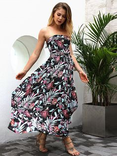 Floral Sexy Off Shoulders long Beach Maxi Dress  life  maxi  dress  fashion 5aae434e7123