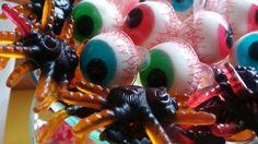 Arañas come-ojos