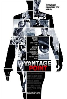Vantage Point on DVD July 2008 starring Dennis Quaid, Matthew Fox, William Hurt, Forest Whitaker. Thomas Barnes (Dennis Quaid) and Kent Taylor (Matthew Fox) are two Secret Service agents assigned to protect President Ashton (William Hurt) Matthew Fox, Z Movie, Love Movie, Streaming Hd, Streaming Movies, Movies Showing, Movies And Tv Shows, Peliculas Audio Latino Online, Angles