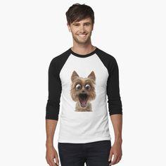 surprised dog face by Shark-Plaza | Redbubble Surprised Dog, Shark, Tees, Face, Women, Fashion, Moda, T Shirts, Fashion Styles