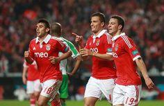 Salvio (18), Rodrigo (19) e Lima (11); Benfica - Rio Ave (6  - 1); 30/03/2013; visto no estádio!