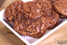 These Brownie Drop Cookies are just like fudge brownies in a cookie form. They're soft, rich and completely decadent!