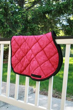 Hey, I found this really awesome Etsy listing at https://www.etsy.com/listing/191252058/horse-saddle-pad-ap-quilted-hot-pink